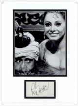Roy Castle Autograph Signed Display - Carry On Up The Khyber